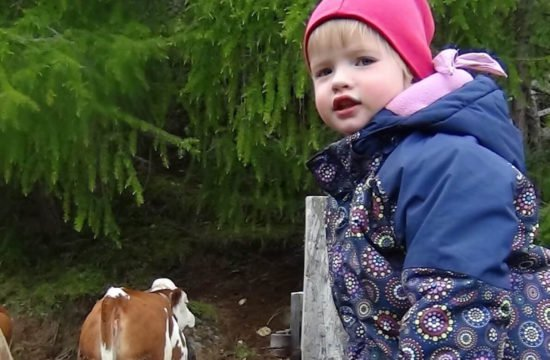 Farm holidays with children